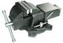 Тиски Слесарные 100 мм (4 ) стальные поворотные массивные с наковальней (LT83004)  CNIC  (упаковка 2шт.)