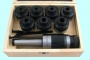 Патрон резьбонарезной с хв-ком КМ3 с набором головок из 7шт. М12-М24 (MТ3-GT24-140L)  CNIC