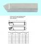 Резец Расточной державочный 10х10х40 Т5К10(YT5) 60°, к расточным оправкам