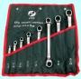 Набор ключей Накидных из 8-ми шт. 6х7 - 22х24 в сумке хром