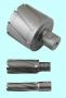 Сверло d 65х50 корончатое кольцевое Т15К6 хвостовик Weldon 32мм по металлу  CNIC