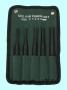 Набор бородков цилиндрических из 5-ти шт. от 3 до 8мм, тип 2 в сумке  (ОТ306)