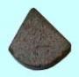Пластина 06030 ВК8 правая (10х8х3х5) (для подр. и расточных резцов под глухие отв.)
