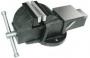 Тиски Слесарные 75 мм (3 ) стальные неповоротные массивные с наковальней (LT83103)  CNIC  (упаковка 4шт.)