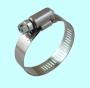Хомут червячный CNIC 122-142/12,7мм W2 нержавеющая сталь с оцинкованным винтом SAE J1670 122142
