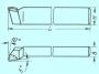 Резец Подрезной отогнутый 32х25х170 Т15К6
