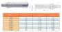 Оправка R8 7/16- 20UNF / В16 на внутренний конус сверлильного патрона на расточ. и фрезер. станки
