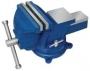 Тиски Слесарные 100 мм (4 ) стальные поворотные облегченные с наковальней (LT96004)  CNIC  (упаковка 4шт.)