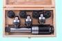 Патрон резьбонарезной с хв-ком КМ2 с лапкой с набором головок из 7шт. М 3-М12 (MТ2-GT12-110L)  CNIC