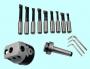 Головка расточная d 50мм, D расточки 10-125мм, хв-к КМ2 с к-том резцов Т15К6 из 9шт.