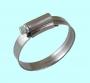 Хомут червячный CNIC 22-32/ 12.7мм W4 нержавеющая сталь, усиленный BS5315 67-2D2232