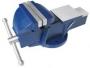 Тиски Слесарные 150 мм (6 ) стальные неповоротные усиленные с наковальней (LT89106)  CNIC  (упаковка 1шт.)