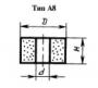 Эльборовый круг А8 (плоский прямого профиля без корпуса) 10х16х3 ЛО8 С2 100% (головки)